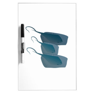 Ocean Stingrays Dry Erase Board