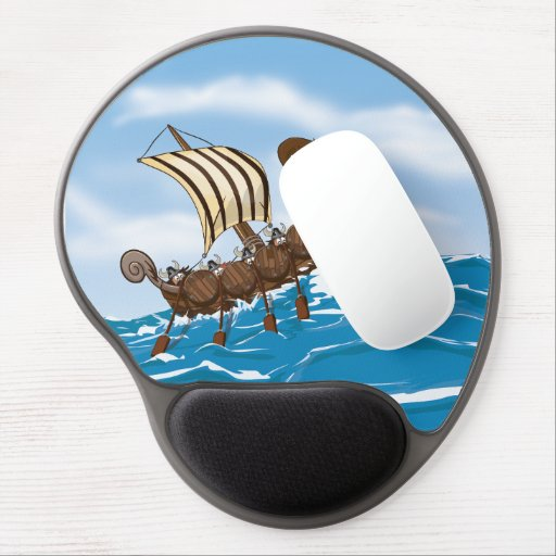 Ocean Storm. Gel Mouse Pad