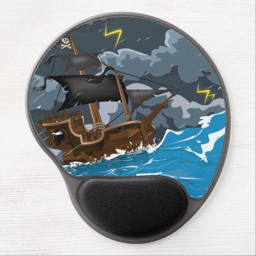 Ocean Storm. Gel Mousepad