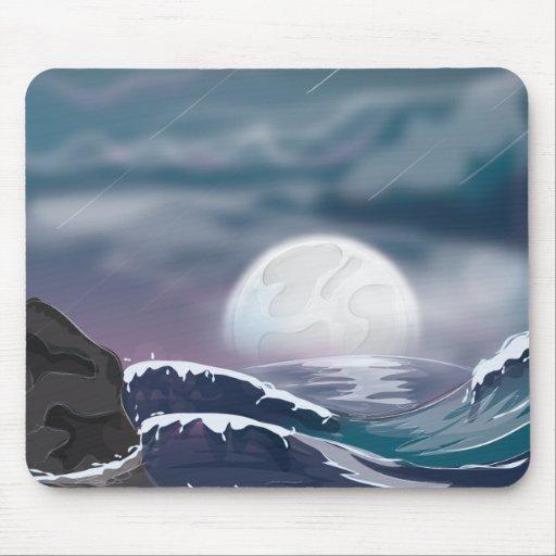 Ocean Storm Mouse Pads