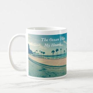 Ocean, Summer, Heart, Love, Sunny, Sea, Canaria Coffee Mug