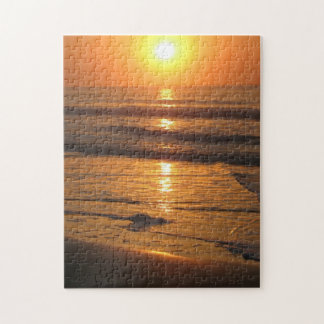 """Ocean Sunrise"" 10x14 Photo Puzzle"