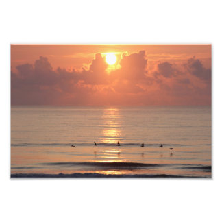 Ocean Sunrise - Daytona Beach, FL (Print) Photo Print