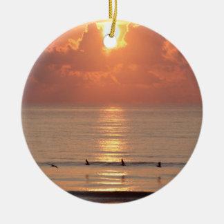 Ocean Sunrise Daytona Beach, Florida Ornament