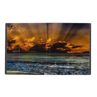 Ocean Sunrise iPad Folio Case