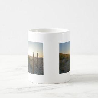 Ocean Sunrse, Dawn Dunes Coffee Mug