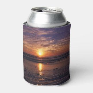 Ocean sunset can cooler