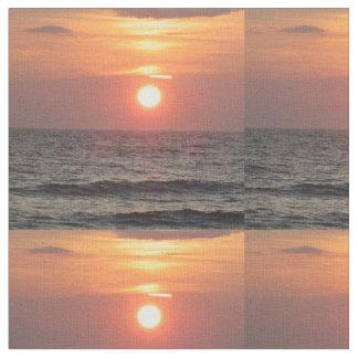 Ocean Sunset Fabric