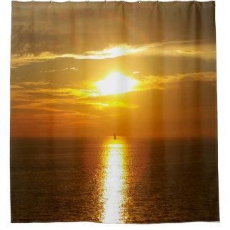 Ocean Sunset Golden