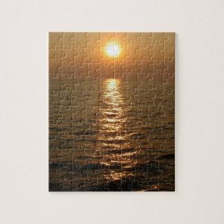 Ocean Sunset Jigsaw Puzzle