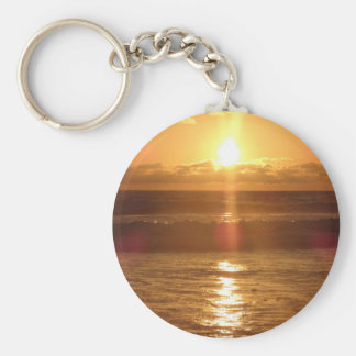 Ocean Sunset Key Chain