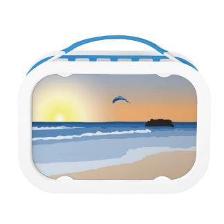 Ocean Sunset Kids Lunchbox