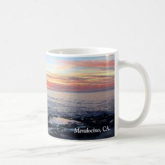 Ocean Sunset Mug, Mendocino, CA. Coffee Mug