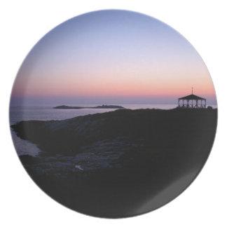 Ocean Sunset Plate