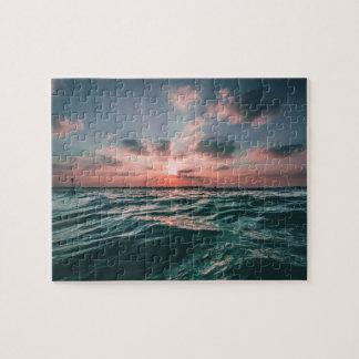 Ocean Sunset puzzle