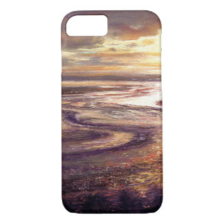 """Ocean Sunset Swirl"" Phone Case"