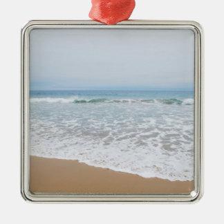 Ocean Surf Southern California Metal Ornament