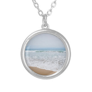 Ocean Surf Southern California Silver Plated Necklace