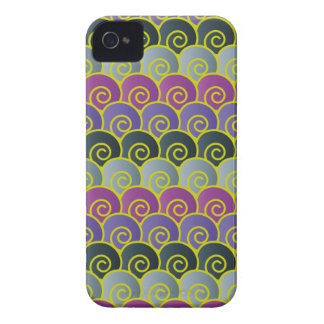 Ocean Swirls Purplish BlackBerry Bold Case