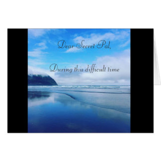 Ocean Sympathy Card
