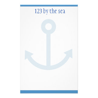 Ocean themed stationary stationery