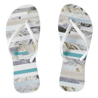 Ocean toes flip flops