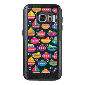 Ocean Transportation Pattern OtterBox Samsung Galaxy S7 Case