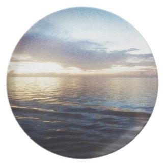 Ocean Twilight Plates