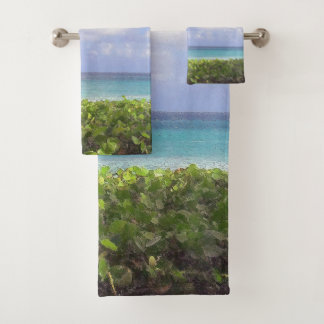 Ocean View, Juno Beach Bath Towel Set