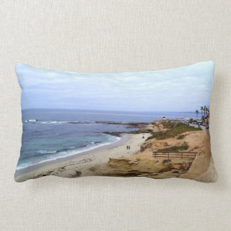 Ocean view lumbar pillow