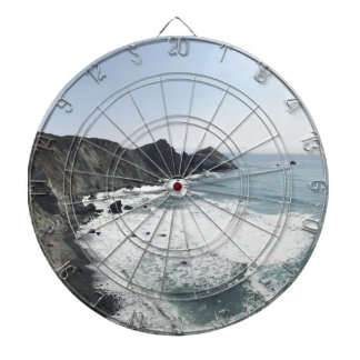Ocean View Pacific Coast Highway Big Sur Dartboard