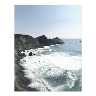 Ocean View Pacific Coast Highway Big Sur Letterhead