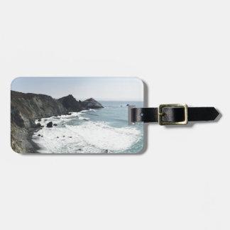 Ocean View Pacific Coast Highway Big Sur Luggage Tag