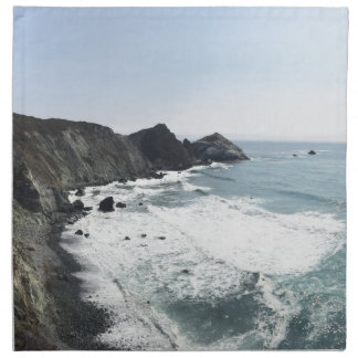 Ocean View Pacific Coast Highway Big Sur Napkin