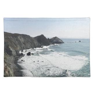 Ocean View Pacific Coast Highway Big Sur Placemat