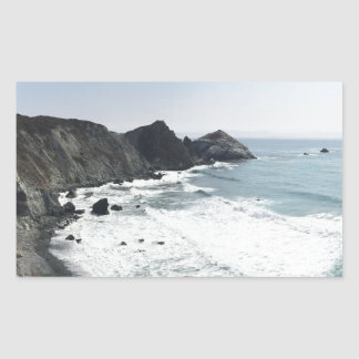 Ocean View Pacific Coast Highway Big Sur Sticker