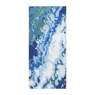 Ocean Wake II Canvas Print by Margaret Juul