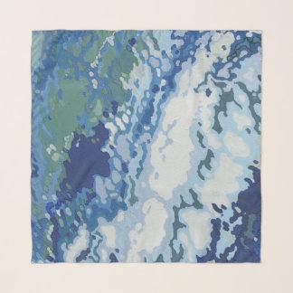 Ocean Wake Scarf by Margaret Juul