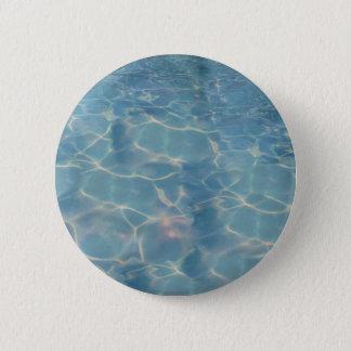 Ocean water 2 inch round button