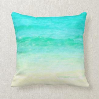 Ocean Water Aqua Pillow