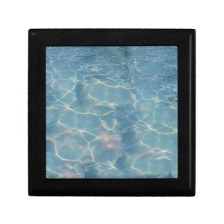 Ocean water gift box