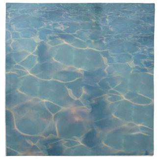 Ocean water napkin
