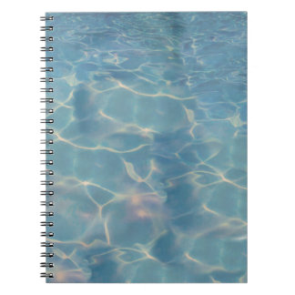 Ocean water notebook