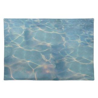 Ocean water placemat