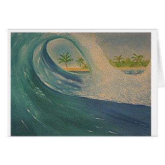 Ocean Wave Card