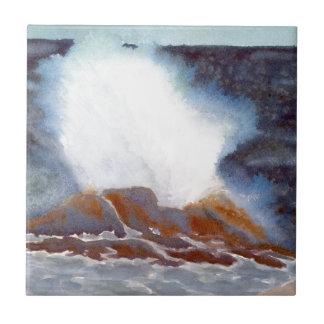 Ocean Wave Ceramic Tiles