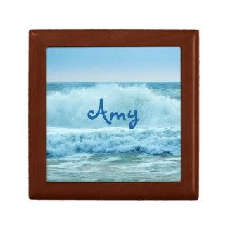Ocean Wave Crashing Gift Box