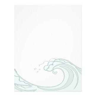Ocean Wave letterhead