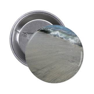 Ocean Wave Meet Sand Beach Buttons