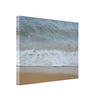 Ocean Wave on the Beach Hawaii Photography Canvas Print